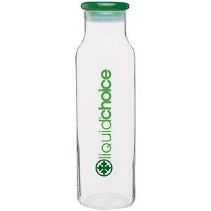 22 Oz. H2go Vibe Bottle (Apple Lid)